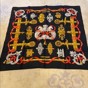 100% authentic silk Hermès scarf